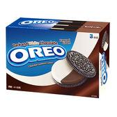 奧利奧黑白巧克力口味夾心餅乾411g【愛買】