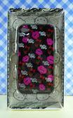 【震撼精品百貨】Hello Kitty 凱蒂貓~HELLO KITTY iPhone4手機殼-唇印黑