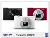 SONY DSC-WX500 30倍變焦 自拍翻轉(WX500,台灣索尼公司貨)