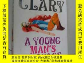 二手書博民逛書店A罕見Young Man s Passage 彩色插圖本Y146