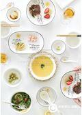 碗碟套裝家用碗盤碗筷盤子碗日式創意陶瓷簡約餐具