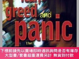 二手書博民逛書店預訂Fear,罕見Greed And Panic - The Psychology Of The Stock Ma