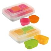 Richell利其爾 - 矽膠離乳食分裝盒 (含上下蓋)