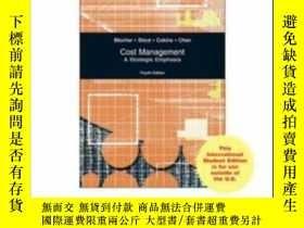 二手書博民逛書店Cost罕見Management: A Strategic EmphasisY307751 Edward Bl