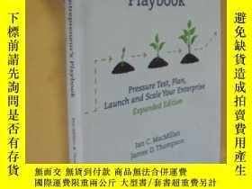 二手書博民逛書店英文原版罕見The Social Entrepreneur s Playbook, Expanded Editio