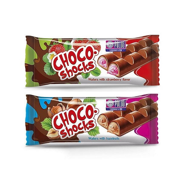 POLUS 味覺繽紛巧克力威化條(40g) 款式可選【小三美日】