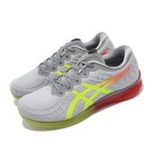 【六折特賣】Asics 慢跑鞋 Gel-Quantum Infinity 灰 黃 女鞋 運動鞋 【ACS】 1022A051020