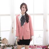 【RED HOUSE-蕾赫斯】長版西裝外套(共二色)