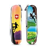 2020 限量上市 VICTORINOX 瑞士維氏限量迷你7用印花瑞士刀-攀岩
