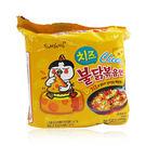 韓國 SamYang 三養 起司辣雞肉風味麵 140g/4包入☆巴黎草莓☆