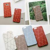 韓國 多邊形 硬殼 手機殼│S7 Edge S8 S9 S10 Note5 Note8 Note9│z8387