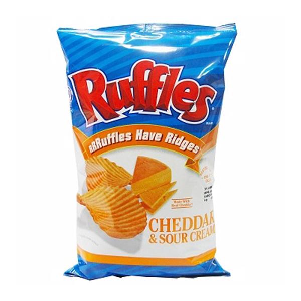 美國Ruffles洋芋片-起士口味(184.2gx6包)-箱購