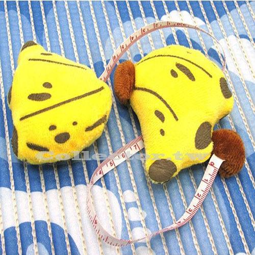 香蕉捲尺迷你伸縮捲尺 水果捲尺