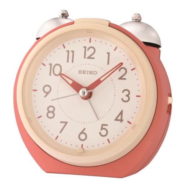 CASIO 手錶專賣店 SEIKO 精工鬧鐘 QHK054R 貪睡功能 靜音 燈光 QHK054