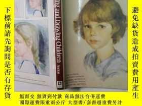 二手書博民逛書店paiting罕見and drawing children(英文