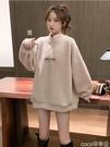 熱賣羊羔毛上衣 2021新款秋冬韓版寬鬆羊羔毛絨加絨爆款炸街衛衣女上衣 coco