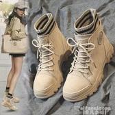 馬丁靴馬丁靴女靴子秋冬季2020新款英倫風百搭潮鞋加絨女鞋帥氣瘦瘦短靴 非凡小鋪