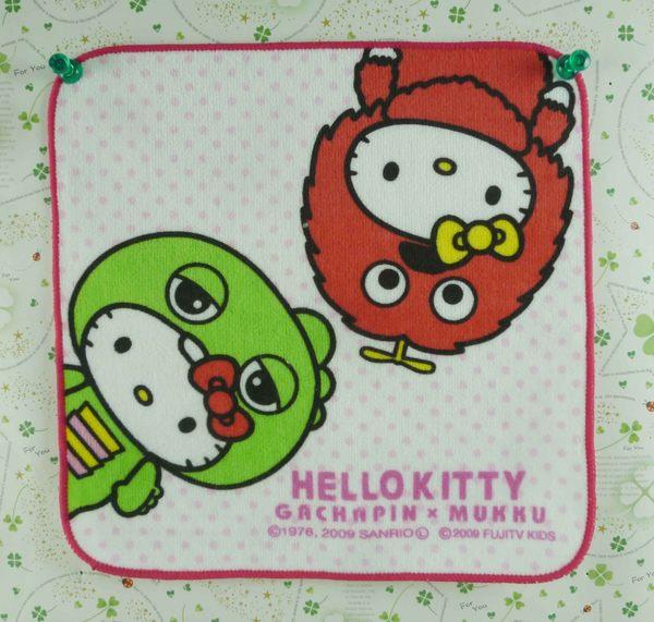 【震撼精品百貨】Hello Kitty 凱蒂貓~方巾-限量款-芝麻街