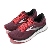 Brooks 慢跑鞋 Glycerin 18 紅 白 女鞋 運動鞋 【ACS】 1203171B628