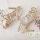 現貨 婚禮晚宴禮服涼鞋 水鑽高跟晚宴鞋推薦 璀璨女神II 20.5-26 EPRIS艾佩絲-高貴金