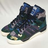 ~NG  ~adidas 聯名 款Rivalry Hi Whiz Fourness 藍白高