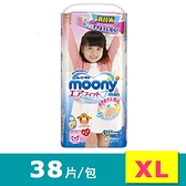 滿意寶寶 日本頂超薄褲型紙尿褲 女用 XL 38片