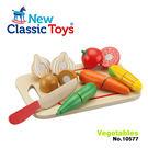免運費~《 荷蘭 New Classic Toys 》木製廚具 - 蔬食切切樂8件組 ╭★ JOYBUS玩具百貨