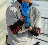 手套 運動騎行登山手套薄款透氣防曬男款春季開車防滑全指騎行手套觸屏 完美情人館
