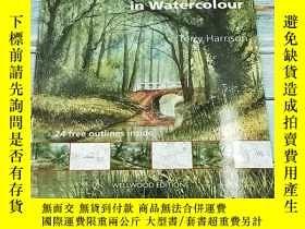 二手書博民逛書店Landscapes罕見in Watercolour (What