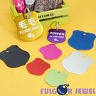 【Fulgor Jewel】富狗 客製化 寵物吊牌 名牌 彩鋁徽章造型 免費雕刻單面(限文字)