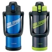 【聖影數位】象印 2L SLiT 運動型不鏽鋼真空保冷瓶 SD-BC20 藍色 產品代碼5Q026