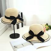 親子帽子母子母女大檐夏季出游防曬遮陽帽兒童帽子可折疊女童草帽   良品鋪子
