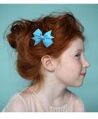 寶寶蝴蝶結髮夾 女童瀏海夾 歐美超亮多色不傷頭髮 88182