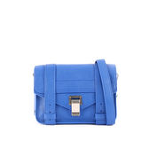 【PROENZA SCHOULER】mini cross-body斜背包(銀釦)(孟菲斯藍) H00338 L001E 5064