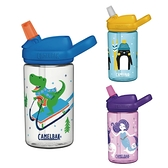 【加贈防塵蓋】美國 CAMELBAK eddy+ 兒童吸管運動水瓶 400ML (5款可選)
