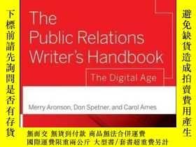 二手書博民逛書店The罕見Public Relations Writer s Handbook: The Digital Age,
