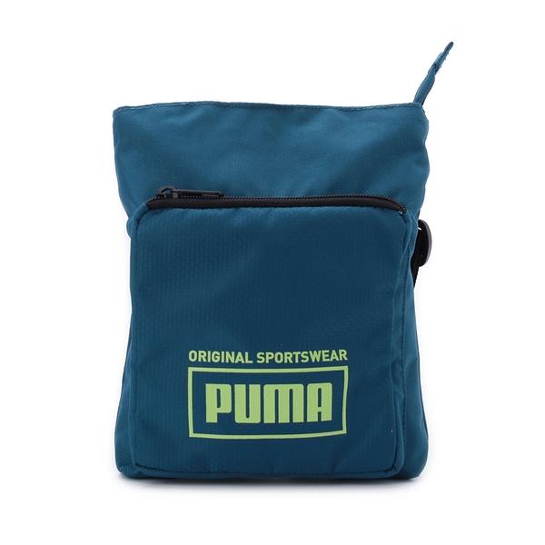 PUMA SOLE 隨身側背包 電子藍 076926-03