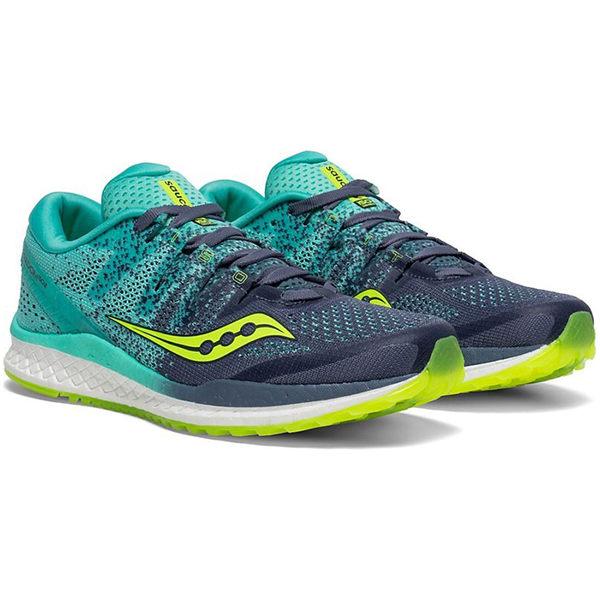 Saucony 19SS 頂級 緩衝 女慢跑鞋 FREEDOM ISO 2系列 S10440-4 贈腿套【樂買網】