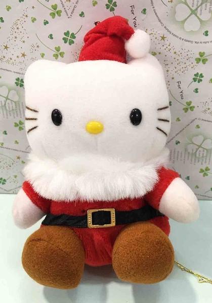 【震撼精品百貨】Hello Kitty 凱蒂貓~絨毛玩偶-聖誕裝*60915