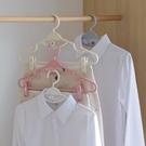 曬衣架 掛漢服衣架jk裙子帶夾子多功能無痕收納衣架專用家用晾衣架子掛鉤