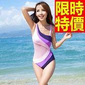 連身泳衣 泳裝-音樂祭衝浪溫泉必備比基尼隨性火辣2色56j16【時尚巴黎】