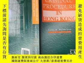 二手書博民逛書店Criminal罕見Procedure in Hong kongY26321 gary 朗文