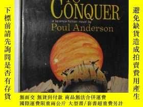 二手書博民逛書店珍本,科幻小說罕見Three Worlds to Conquer