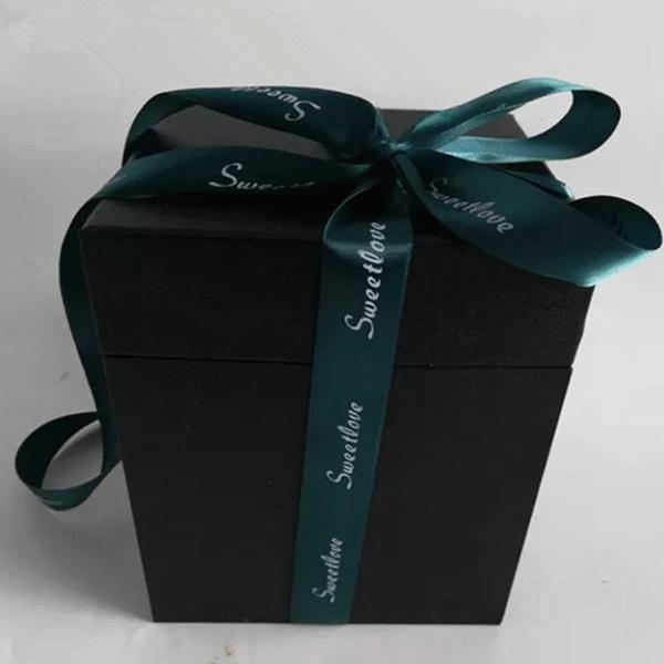 永生花專用禮盒,音樂盒藍芽款共通禮盒款,限定直徑12公分以下