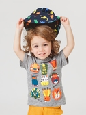 兒童短袖 男童短袖T恤夏裝夏季童裝兒童純棉上衣兒童小童潮半袖打底衫【萬聖夜來臨】