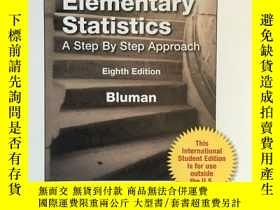 二手書博民逛書店Elementary罕見Statistics A Step By Step Approach (Eighth Ed