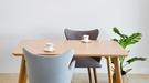 【歐雅系統家具】里約高背布餐椅-粉藍 / 北歐風 / 現成家具 / 椅子 / 多色選擇 / 歐洲沙發專用布