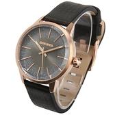 DIESEL Castilla漸層星空女仕皮革腕錶40mm(DZ5573)270103