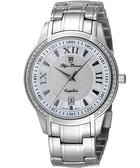 Olympianus 經典魅力晶鑽腕錶-銀 5655DMS
