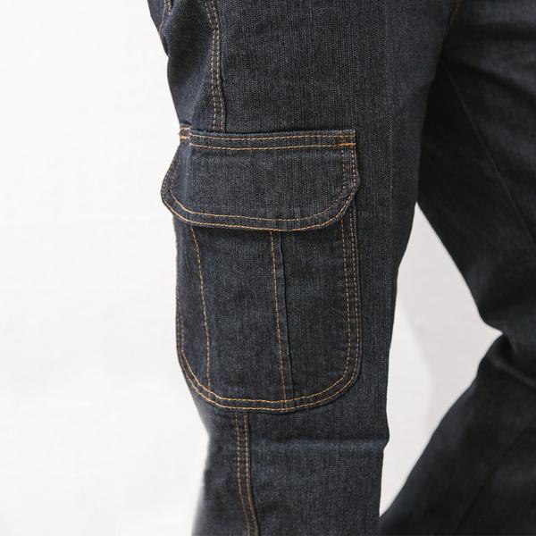 休閒多袋百搭牛仔褲.工作褲